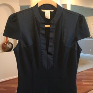 DVF Stretch Wool Jersey Dress